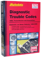 AutoData 06-360 Systems Diagnostic Trouble Code Manual