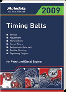 autodata 09 180sp 2009 spanish timing belt manual american parts rh goapesonline com Timing Belt Tensioner Timing Belt Marks