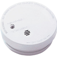 "Kidde 0914 Fire Sentry Battery Operated 4"" Basic Smoke Alarm"