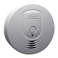 Kidde 0919 Wireless Ionization Smoke Alarm (DC) Interconnectable