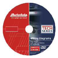 AutoData 10-CDX650 Wiring Diagrams DVD - Body System, Audio/Visual & Climate Control