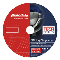 AutoData 10-CDX660 Wiring Diagrams DVD - SRS/Airbag & ABS