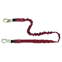 MSA 10023971 FP Diamond™ Swivel HL2000 Shock Absorbing Lanyard, (2) HL64