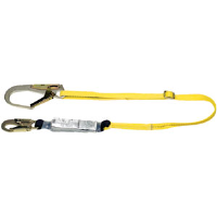 MSA 10076124 Workman® Energy Absorbing Lanyard,GL3100, Single