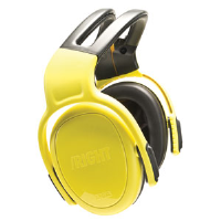 MSA 10087399 left/RIGHT Ear Muff, High 28dB, Headband, Yellow