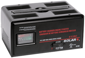 Solar 1010C 10/2 Amp 6/12 Volt Battery Charger