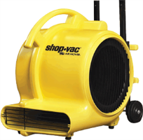 Shop-Vac 1030110 Air Mover, 1/2 HP