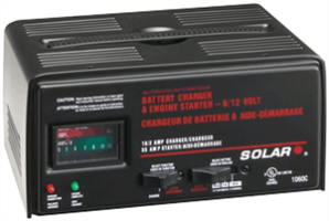Solar 1060C 10/2/55 Amp Automatic Battery Charger w/ Engine Start