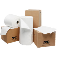"SPC OP100 Oil Plus™ 15"" x 19"" Heavy Weight Pads, 100/Box"