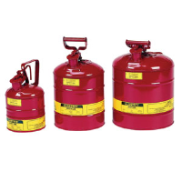 Justrite 10301 Type I Safety Cans, 1 gal, Red