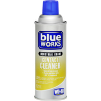 WD-40 110283 Blue Works™ Industrial Grade Contact Cleaner, 12/Cs.