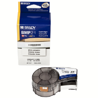 "Brady 110896 BMP™21 Mobile Printer Labels,B423 Nylon Cloth,3/8"",21'"