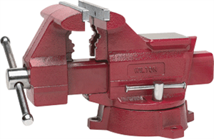 "Wilton 11128 Utility Vise 6-1/2"" Jaw with Swivel Base"