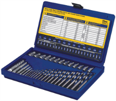 Irwin 11135 35 Pc. Screw Extractor & Drill Bit Set