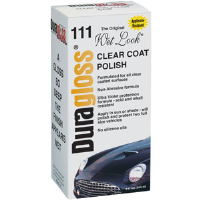 Duragloss 111 Clear Coat Polish, 8oz,6/Cs.