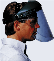 Willson 11340143 Complete Faceshield-Clear Proprionate Visor