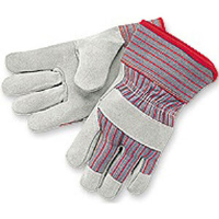 MCR Safety 1201S Gunn Pattern Gloves w/Starched Safety Cuff,(Dz.)