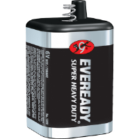 Energizer 1209 Eveready 6V Alkaline Super H.D. Lantern Battery