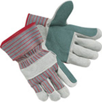 MCR Safety 1211 Industy Dbl Leather Palm Gloves,2.5
