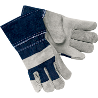 MCR Safety 1220D Gunn Pattern Full Leather Gloves,(Dz.)