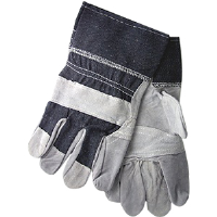 MCR Safety 1220DX Gunn Pattern Patch Palm Leather Gloves,(Dz.)