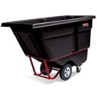 Rubbermaid 1305 Standard Duty Tilt Truck - Black