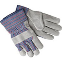 "MCR Safety 1311 Double Leather Palm Gloves, 2-1/2"" Safety Cuff(Dz.)"