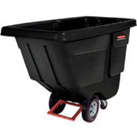 Rubbermaid 1314 Utility Duty Tilt Truck - Black