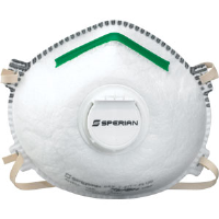 Sperian 14110393 SAF-T-FIT® Plus N95 Respirators,Valve, S, 20/Bx