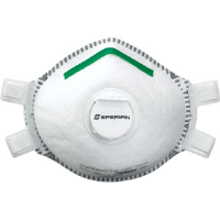 Sperian 14110439 SAF-T-FIT® Plus P100 Respirators,Valve, S, 10/Bx.