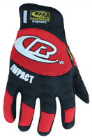 Ringers Gloves 145-09 Red Splitfit Impact Glove, M
