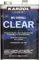 Kardol 150662 Overall MS Urethane Clearcoat, Gallon