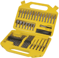 Titan 16044 45 Pc. Power Bit Set