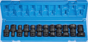"Grey Pneumatic 1612U 3/8"" Dr. 12 Pc. 12 Point Socket Set"