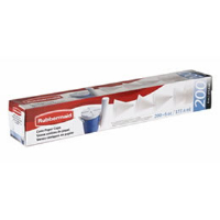 Rubbermaid 163406 4 Oz. Paper Water Cups, 1,200/Cs.
