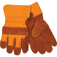"MCR Safety 16810 Bronco® ""B"" Shoulder, Full Feature Gunn Rubberized Cuff Gloves"