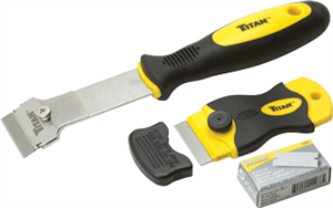 Titan 17002 2 Pc. Multi-Purpose Razor Scraper Set