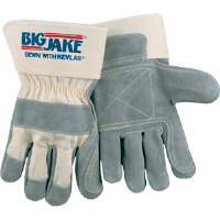 MCR Safety 1711 Big Jake® Gloves, Double Leather, Kevlar Index Finger/Thumb
