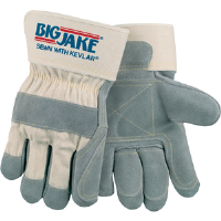 MCR Safety 1715 Big Jake® Gloves,Double Leather, Kevlar Fingers & Thumb