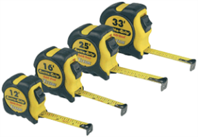 Titan 17500 4 Pc. Tape Measure Set