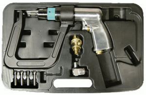 "Astro Pneumatic 1756 Air Spot Drill with 5.5"" Deep Clamp Kit"
