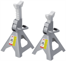 OTC 1772C 3-Ton Ratchet Style Jack Stands (Pair)