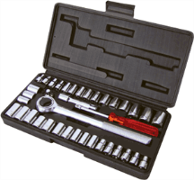 Titan 18196 40 Pc. Socket Set