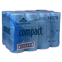 Georgia Pacific 19375 Compact® Coreless Bath Tissue, Two-Ply