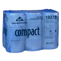 Georgia Pacific 19378 Compact® Coreless Bath Tissue, Two-Ply