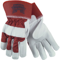 MCR Safety 1940L Gloves For Glory Premium Grain Goatskin Gloves,(Dz.)