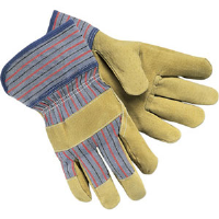 MCR Safety 1950L Snort'n Boar™ Standard Grade Split Pigskin Gloves,(Dz.)