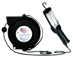 National Electric 20250 X-2 Heavy Duty Light, 50' Reel