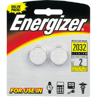 Energizer 2032 3V Coin Lithium Batteries (2/Pk) 2032BP-2