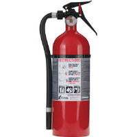Kidde 21005766 5 lb ABC Single Use MP Garage Extinguisher w/Wall Hook
